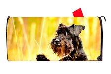 Miniature Schnauzer Magnetic Mailbox Cover Excellent Quality Made in the Usa