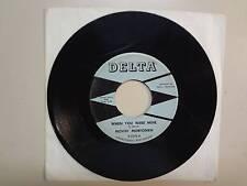 """MOVIN' MORFOMEN: When You Were Mine 2:43-Run Girl Run 1:52-U.S. 7"""" Delta R-2242"""