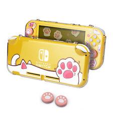 Para Nintendo Switch Lite Animal Crossing Estuche Cubierta Protectora + Tapones de agarre para el pulgar