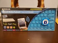 New Xtreme Cables 59593 Bluetooth Wireless Keyboard (Blue)