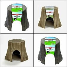 Kaytee Natural Tree Trunk Hideout, Large