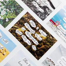 """Nature Chat"" 30pcs Mixed Postcards Set Lot Postcard Bookmark Beautiful Gift"