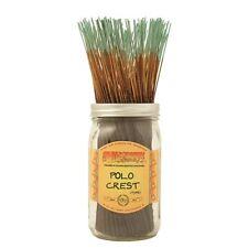 Wildberry POLO CREST Incense 10 sticks  *FREE SHIPPING* Fir Citrus Balsam Moss