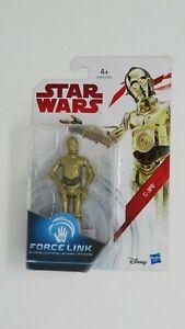 "Hasbro Star Wars Force Link C3PO 3.75"" Action Figure"