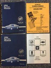 New listing 1994 Gm Buick Regal Service Manuals 3-Book Set Original Equipment Manuals