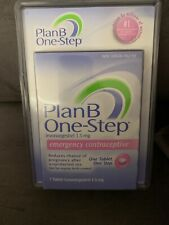 NEW Plan-B One Step Emergency Contraceptive 1.5mg Levonorgestrel Tab. Exp.2022