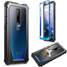 For OnePlus 7 Pro Case,Poetic Shockproof Cover [Scratch Resistant Back] Blue