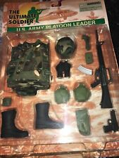 1998 The Ultimate Soldier Us Army Platoon Leader Moc #G307A