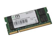 Mushkin Essentials Laptop Memory 2GB DDR2 RAM 200-Pin SO-DIMM PC2-6400 991577