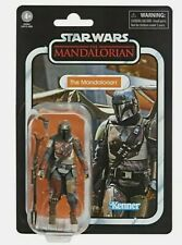 "Hasbro Star Wars 3.75""the Vintage Collection Vc166 The Mandalorian Action Figure"