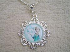 Disneys Frozen Big Sister Elsa Necklace. Stunning. Must See