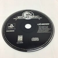 Mortal Kombat 4 Video Game Sony PlayStation 1 PS1 1998 Disc Only Tested