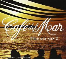 CAFE DEL MAR TERRACE MIX 2 (LUX, BENT, PHOTONS, JAMES BRIGHT,...) CD NEW+
