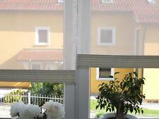 Scheibengardinen 2 x Breite 50 x Höhe 46/55 cm- neu - modern Gardine Paneel