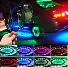4x LED RGB Unterboden Beleuchtung 252 SMDS Strip Set Farbwelchsel Wasserdicht FB