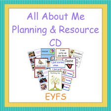 All About Me Planning and Resource Pack on CD, EYFS, Reception, Teaching
