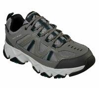 Gray Skechers Black Extra Wide Fit Shoes Men's Foam Sporty Water Repellent 51885