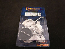 LOTR Knights of Dol Amroth Captain Foot + Mounted Metal Blister Pack