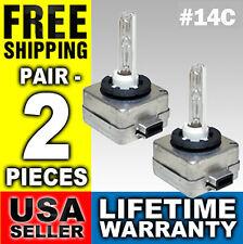 4300k Bulbs HID Xenon Low Beam Headlight Pair 2 Bulb D1S D1R D1C 4300 k 14C