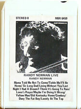 RANDY NEWMAN Live  8 TRACK CARTRIDGE