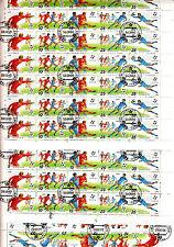 CCCP URSS 26 feuilles/sheets 5TP horizontale x10 Italia 90football World Cup