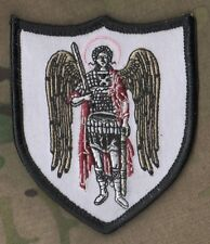 AFG JSOC SP OPS NETWORKED NINJA OPERATOR HOOK/LOOP SSI: St. Michael Archangel a