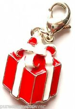 AVON SILVER PLATED PRESENT CHARM (New/Boxed)
