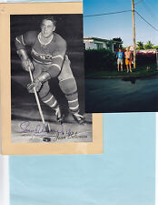 NHL – Montreal Canadiens – Jean Beliveau Signed Beehive with Photo of Jean on...