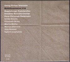 TELEMANN Matthäuspassion 1750 RADEMANN Raum Klang 2CD Matthew Passion Raumklang