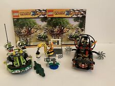 LEGO World Racers 8899 Gator Swamp 100% Complete Instructions Stickers!
