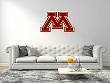 Minnesota Golden Gophers NCAA Football Wall Decal Vinyl Sticker For Room Home