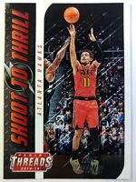 2018-19 Panini Threads Shoot to Thrill Trae Young Rookie RC #4, Atlanta Hawks