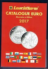 PG Leuchtturm Catalogue Euro 2017 Monnaies et Billets 600 pages Port Gratuit (Fr