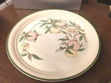 """Arklow Blush Garden 10-1/2"""" Dinner Plate Made in Ireland"""