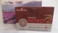 Young Living NINGXIA NITRO Cognitive Fitness Supplement 14 tubes 20ml each New