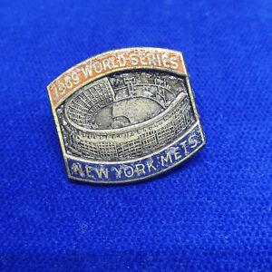 New York Mets World Series Press Pin 1969