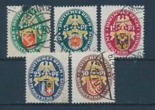 604502) DR Nr.430-4 gest. dt. Nothilfe Wappen