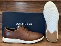 Cole Haan Men's Grand Plus Essex Wedge Oxford  Shoes 11.5 Light Coffee Ivory New