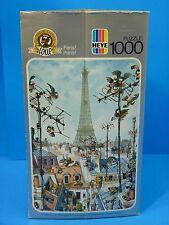Vintage Loup ''Paris! Paris!'' Heye Puzzle 1000 Pieces (1987) Germany COMPLETE!
