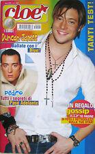 CIOE 4 2005 Blue Pedro Pena Eminem Amy Lee Sergio Muniz Articolo 31 Silvia Hsien
