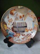 Country Kitties By Gre' Gerardi All Washed Up Excellent Condition