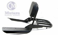 Mutazu Black Sissy Bar Backrest & Luggage Rack for 2014 2015 Honda CTX700N