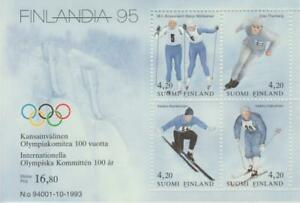 Finland 1994 Yvert Tellier No 1204/07 Great Britain British Sport Olympics / Hb
