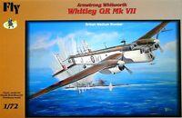WHITLEY GR MK VII (RAF COASTAL COMMAND & BOMBER COMMAND MKGS) 1/72 FLY