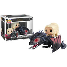 Game of Thrones Daenerys Targaryen with Dragon Action figureToy doll in box Gift
