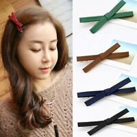 Girls Women Kids Bowknot Barrette Bow Hairpin Hair Clips