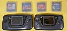 Sega Game Gear Consoles  x 2, Working with 4 Games.