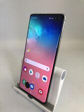 Samsung Galaxy S10 Plus Prism White Unlocked 128GB Smartphone *Read Description*