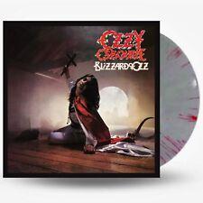 OZZY OSBOURNE BLIZZARD OF OZZ SILVER + RED SWIRLS VINYL LP (PR-ORDER 26/3/2021)