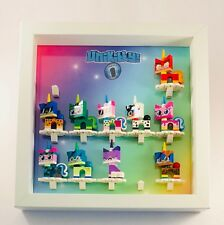Minifigure Display Case Picture Frame for Lego Unikitty Series 1 figures 25cm